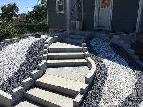 escalier bloc marche